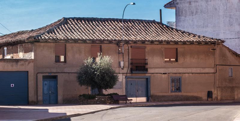 Exterior de la Fábrica de Curtidos de la Familia González